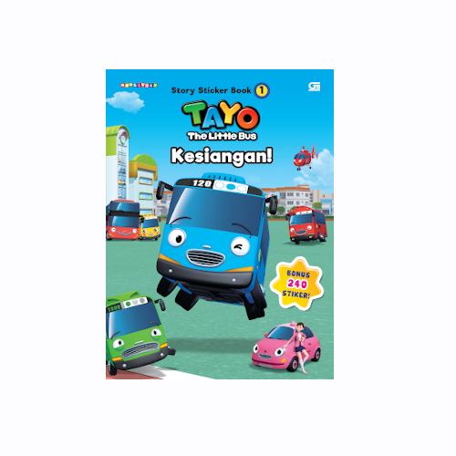 Tayo Story Sticker Book: Kesiangan