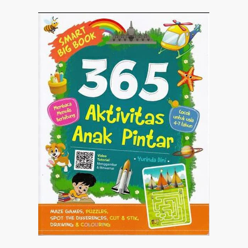 Smart Big Book 365 Aktivitas Anak Pintar