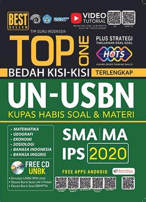 TOP ONE BEDAH KISI-KISI TERLENGKAP UN-USBN SMA IPS 2020