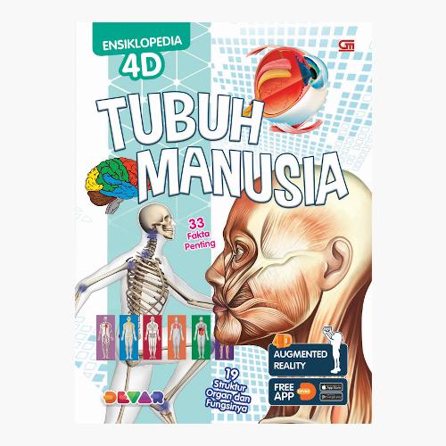 Ensiklopedia 4D: Tubuh Manusia