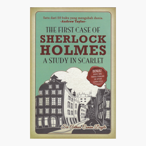 The First Case of Sherlock Holmes A Study in Scarlet - Bahasa Indonesia