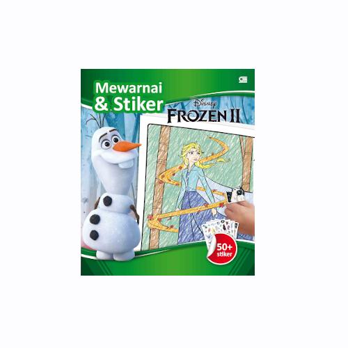 Frozen II: Mewarnai & Stiker