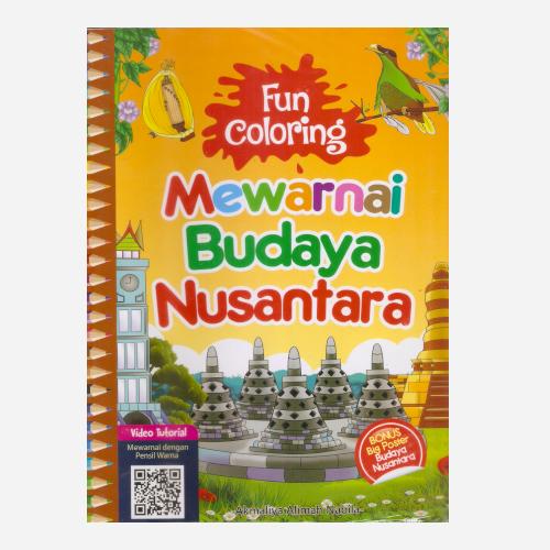 Fun Coloring Mewarnai Budaya Nusantara