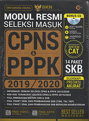 Modul Resmi Seleksi Masuk CPNS & PPPK 2019/2020