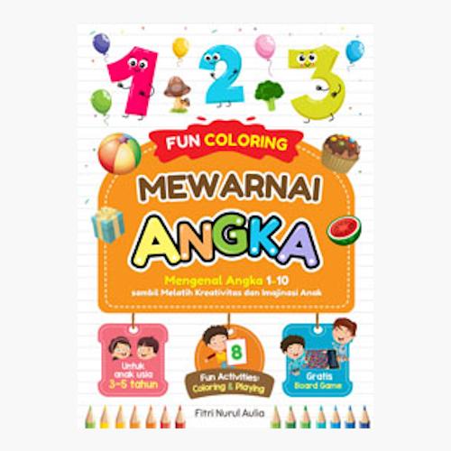 Fun Coloring Mewarnai Angka